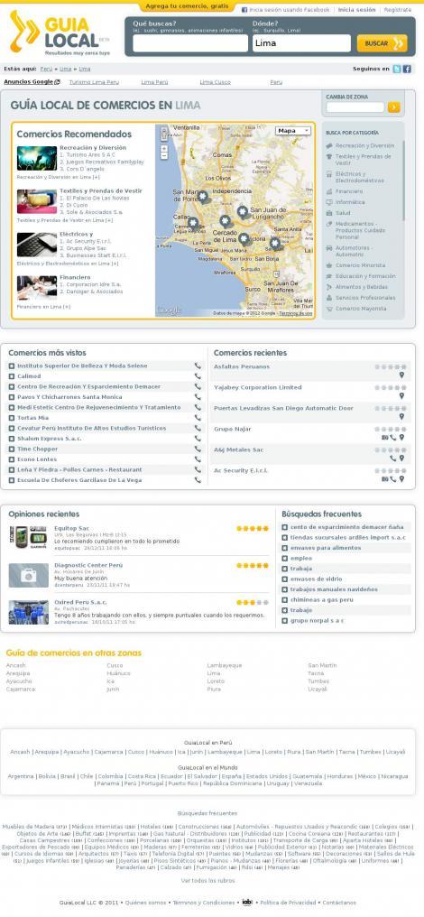 Domicilab laboratorio clinico a domicilio lima for Lista de empresas en lima
