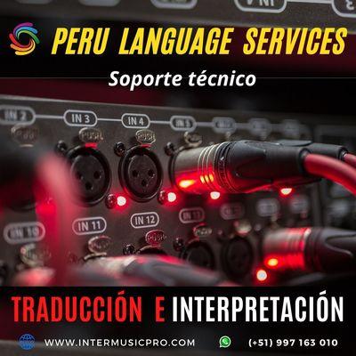 Servicio de traducción para eventos Lima/ Perú