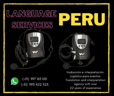 Tour guide wireless system in Lima / Piura /Cusco /Peru - Li