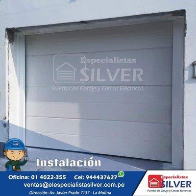 PUERTAS LEVADIZAS SECCIONALES ESPECIALISTAS SILVER