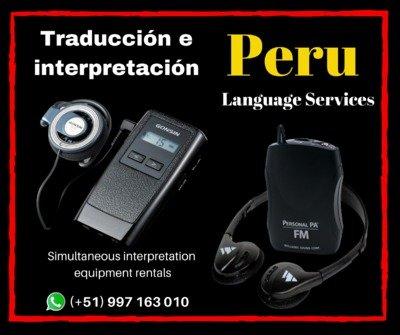Equipos portátiles para visitas guiadas LIMA / 997163010