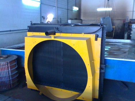 Radiadores para el transporte pesado y maquinaria industrial