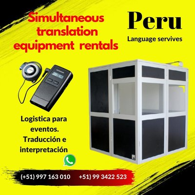 Peru Translation and interpretation agency / Lima /Truji
