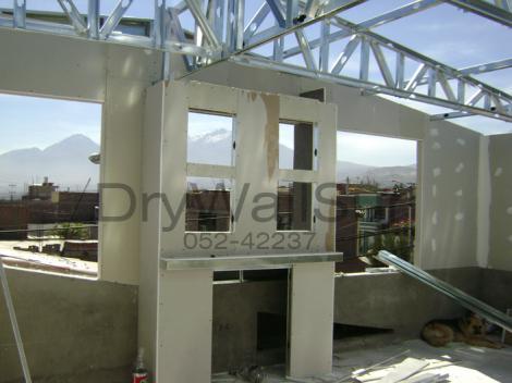 Trabajos con sistema Drywall