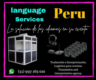 PERUTRADU provides simultaneous interpretation in Peru