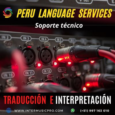 Equipos para eventos traducción LIMA / Cusco 997163010