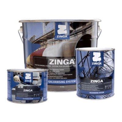 Zinga 99% Zinc Puro Galvanizado En Frio Zinga Metal Liquido
