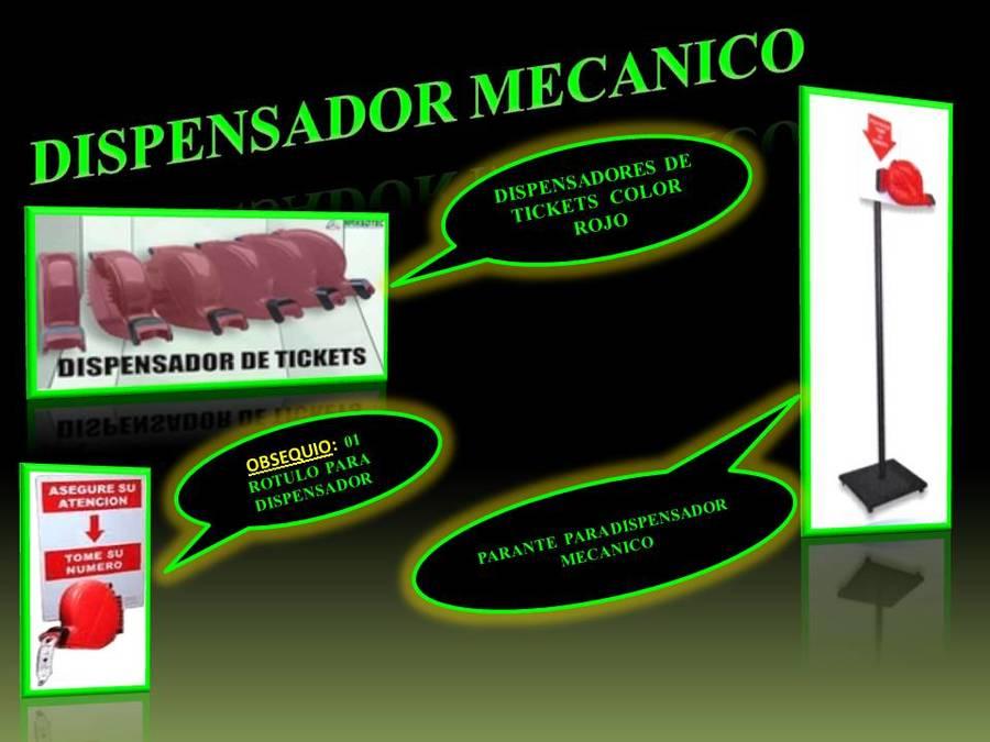 DISPENSADOR MECANICO Y PARANTE / MAXSOTEC  A SU SERVICIO/CONTACTENOS